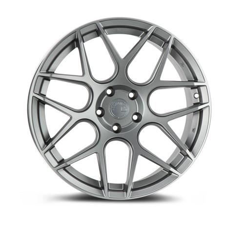 Aodhan Wheels LS002 18X9.0 5X100 +30 Matte Gun Metal