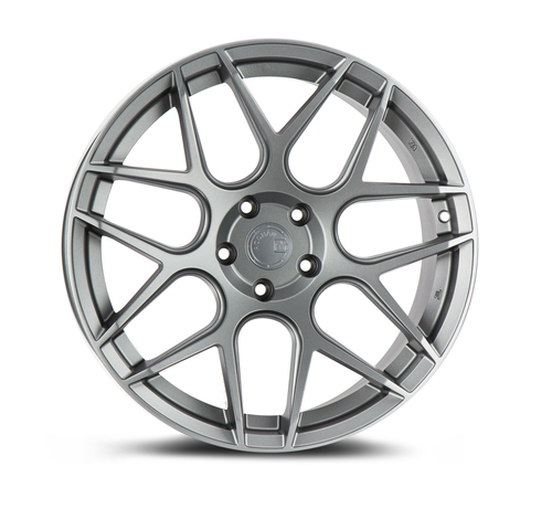 Aodhan Wheels LS002 18X9.0 5X114.3 +15 Matte Gun Metal