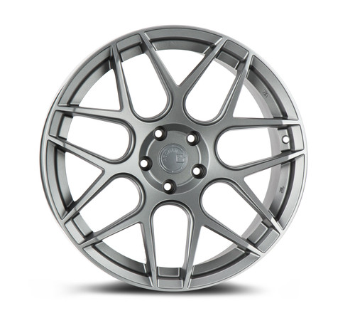 Aodhan Wheels LS002 19x9.5 5x120 +35 Matte Gun Metal
