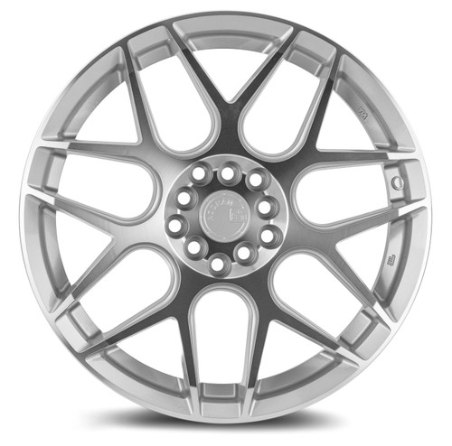 Aodhan Wheels LS002 17x7.5 5x100/114.3 +35 Silver Machined Face