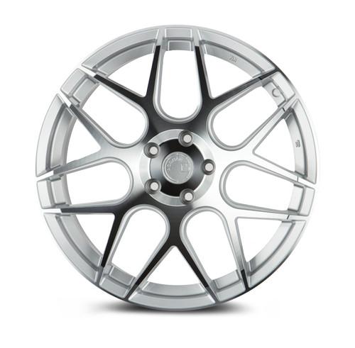 Aodhan Wheels LS002 18X9.0 5X100 +30 Silver Machined Face