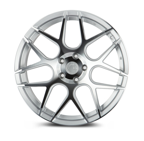 Aodhan Wheels LS002 18X9.0 5X114.3 +30 Silver Machined Face