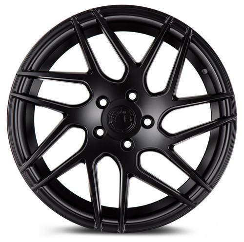 Aodhan Wheels LS008 18x9 5x114.3 +30 Matte Black