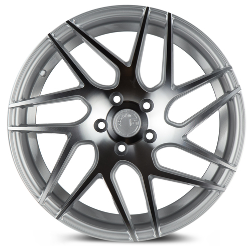 Aodhan Wheels LS008 18x9 5x100 +30 Silver Machined Face
