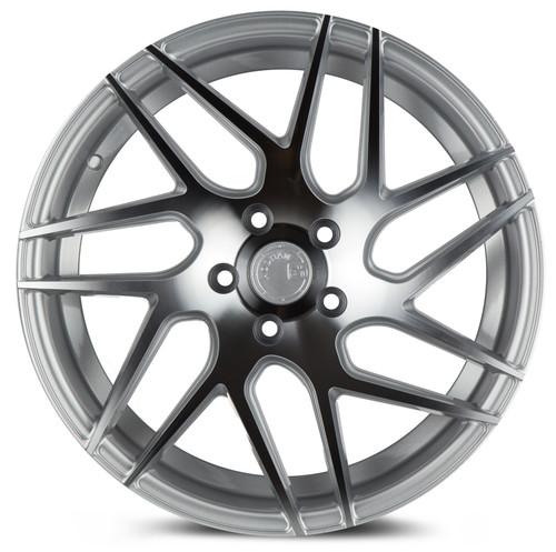 Aodhan Wheels LS008 18x9 5x114.3 +30 Silver Machined Face