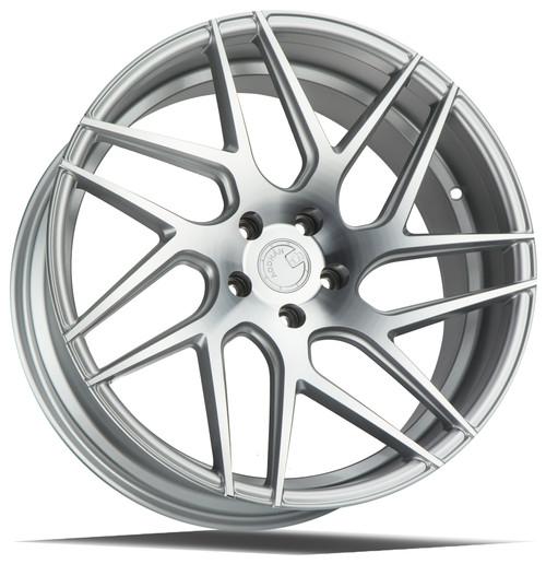 Aodhan Wheels LS008 20x9 5x120 +30 Silver Machined Face