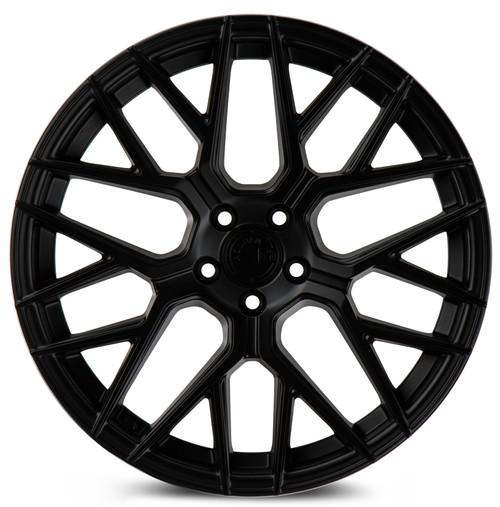 Aodhan Wheels LS009 18x8.0 5x100 +35 Matte Black