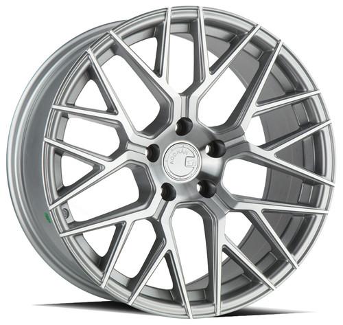 Aodhan Wheels LS009 18x8.0 5x100 +35 Silver Machined Face