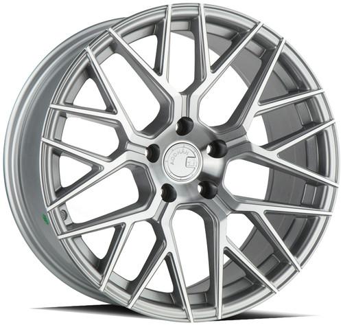 Aodhan Wheels LS009 18x9.0 5x114.3 +30 Silver Machined Face