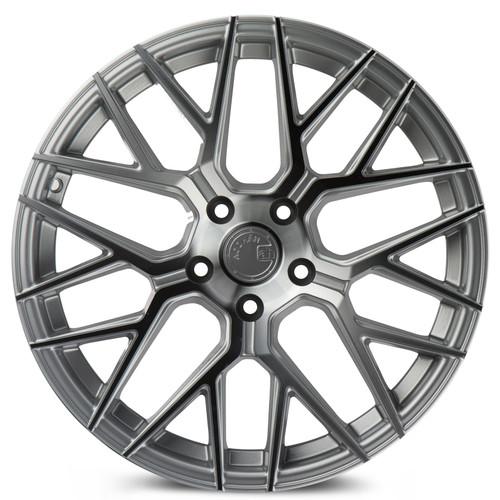 Aodhan Wheels LS009 20x9 5x114.3 +30 Silver Machined Face
