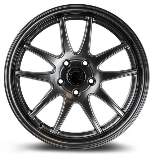 Aodhan Wheels Ds02 18x8.5 5x114.3 +35 Hyper Black