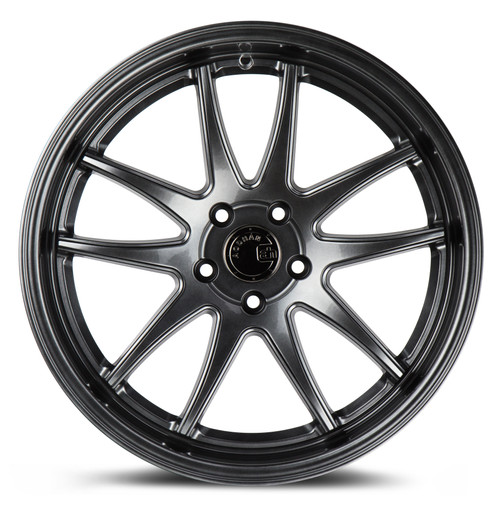Aodhan Wheels Ds02 18x9.5 5X100 +35 Hyper Black