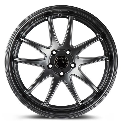 Aodhan Wheels Ds02 18x9.5 5x114.3 +15 Hyper Black