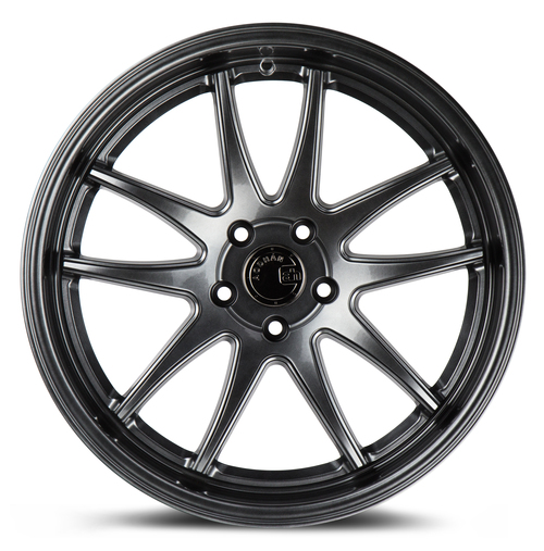 Aodhan Wheels Ds02 18x9.5 5x114.3 +22 Hyper Black
