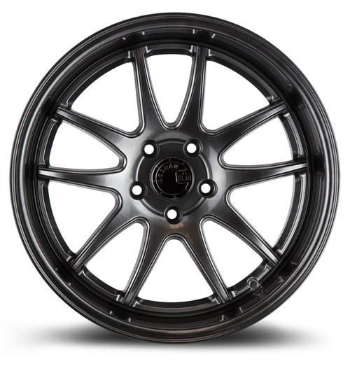 Aodhan Wheels Ds02 18x10.5 5x114.3 +15 Hyper Black