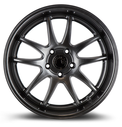 Aodhan Wheels Ds02 18x10.5 5x114.3 +22 Hyper Black