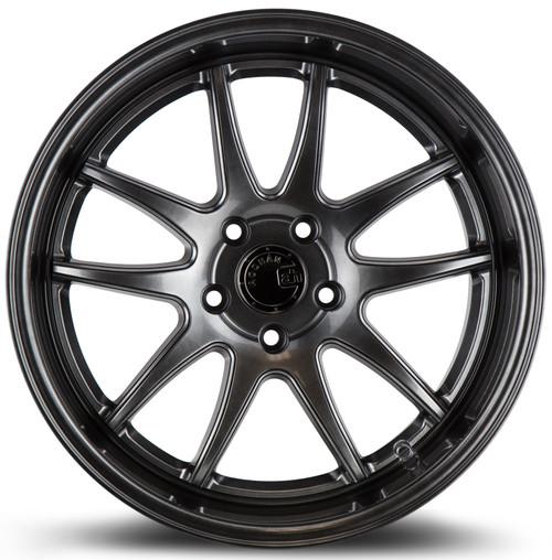 Aodhan Wheels Ds02 19x11 5x114.3 +15 Hyper Black