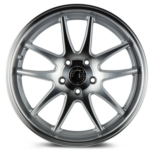 Aodhan Wheels Ds02 18x8.5 5x114.3 +35 Silver w/Machined Face