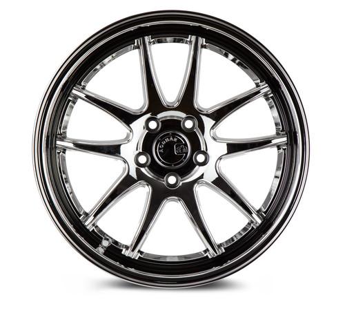 Aodhan Wheels Ds02 18x9.5 5x114.3 +15 Vacuum Chrome