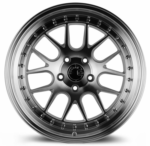 Aodhan Wheels DS-06 18x9.5 5x114.3 +22 Silver w/Machined Face