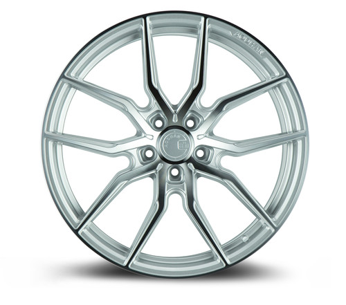 Aodhan Wheels AFF1 20x10.5 5x114.3 +45 Gloss Silver Machined Face