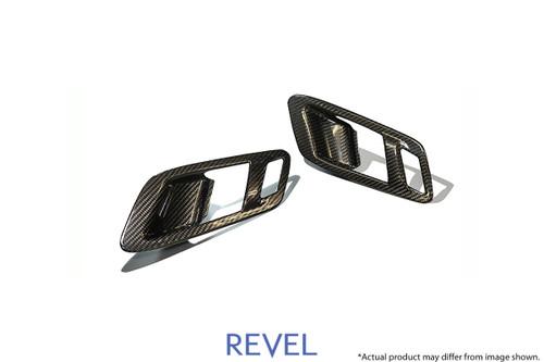 Revel GT Dry Carbon Inner Door Handle Cover 2020-2020 Toyota GR Supra *2 PCS