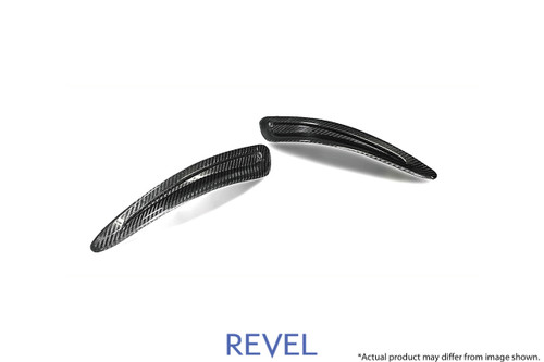 Revel GT Dry Carbon Hood Duct Cover 2020-2020 Toyota GR Supra *2 PCS