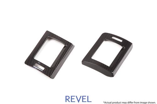 Revel GT Dry Carbon A/C Cover (Left & Right) 2015-2018 Subaru WRX / STI *2PCS