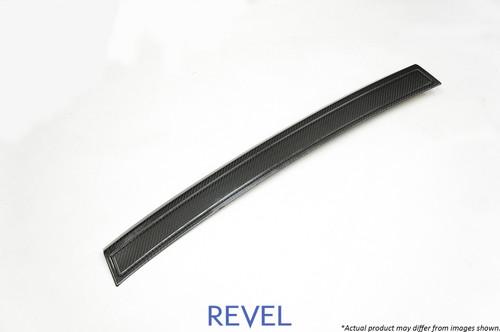 Revel GT Dry Carbon Rear Bumper Applique 2015-2018 Subaru WRX / STI *1 PC