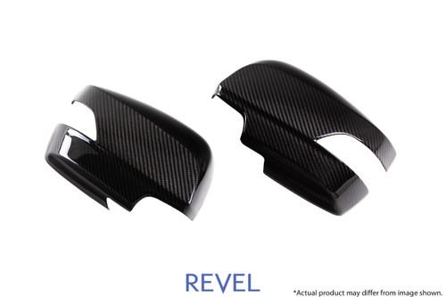 Revel GT Dry Carbon Mirror Cover (Left & Right) 2015-2018 Subaru WRX / STI *2 PCS