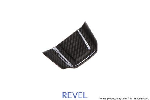 Revel GT Dry Carbon Steering Wheel Insert Lower Covers 2015-2018 Subaru WRX / STI *1 PCS