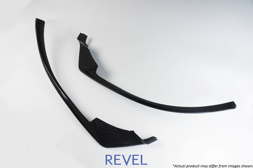 Revel GT Dry Carbon Front Lip Cover 2016-2018 Mazda MX-5 *2 PCS