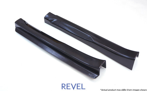 Revel GT Dry Carbon Door Sill Cover (Left & Right) 2016-2018 Mazda MX-5 *2 PCS