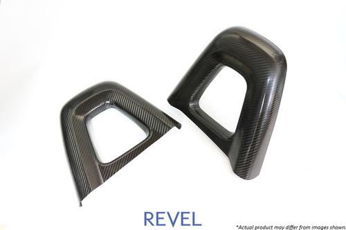 Revel GT Dry Carbon Headrest Cover (Left & Right) 2016-2018 Mazda MX-5 *2 PCS