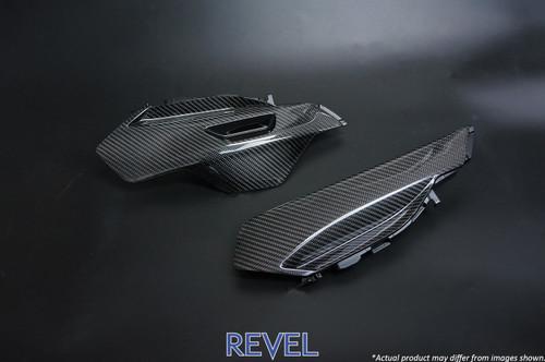Revel GT Dry Carbon Shifter Side Panel (Left & Right) 2016-2018 Mazda MX-5 * 2 PCS