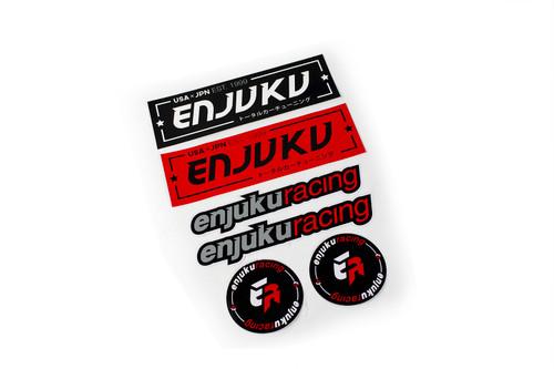 Enjuku Racing - Sticker Pack