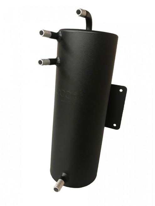 obp Motorsport 70oz (2 Litre) Bulkhead Mount Dark Matter Fuel Swirl Pot