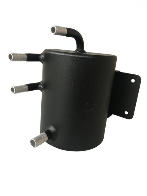obp Motorsport 35oz (1 Litre) Bulkhead Mount Dark Matter Fuel Swirl Pot