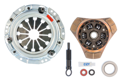 Exedy Stage 2 Clutch Cerametallic Clutch Thick Disc for Toyota AE82 4AGE with NA Flywheel and 88 Chevy Nova