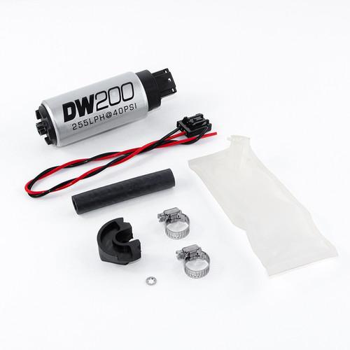 Deatschwerks 255lph In Take Fuel Pump w/ Install Kit for Nissan 240sx S14 S15