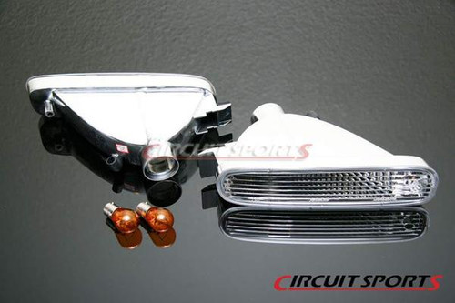Circuit Sports Front Turn Signals Lamps for Nissan Silvia S14 Zenki JDM Bumper Only