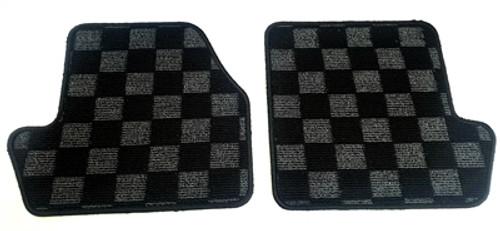P2M Rear Race Floor Mats for Nissan 240SX S14 '95-'98