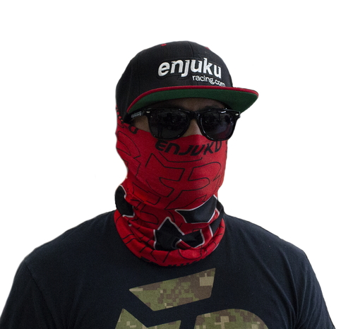 Enjuku Racing - Gaiter Neck Sock - Red