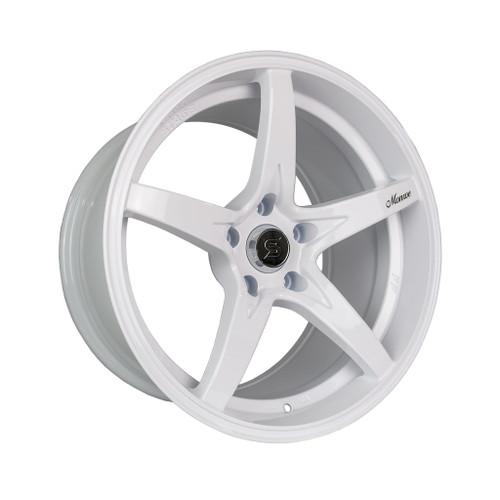 Stage Wheels Monroe 18x9 +22mm 5x114.3 CB: 73.1 Color: White