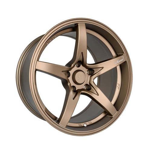 Stage Wheels Monroe 18x9 +22mm 5x114.3 CB: 73.1 Color: Matte Bronze