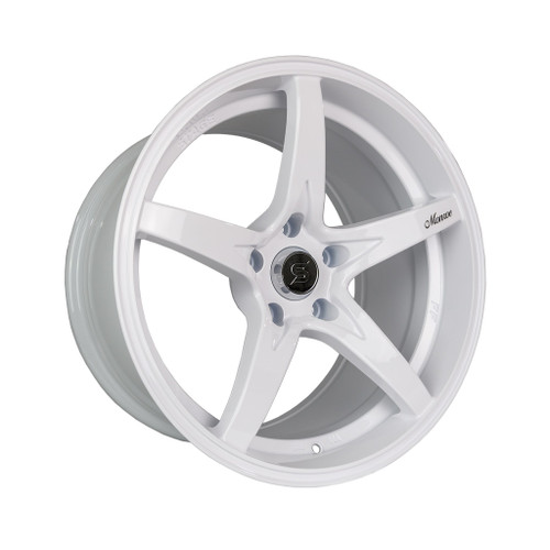 Stage Wheels Monroe 18x9 +25mm 5x114.3 CB: 73.1 Color: White