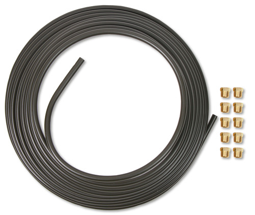Earls 3/8 In X 25 Ft Coil & Fitting Kit - Oliv