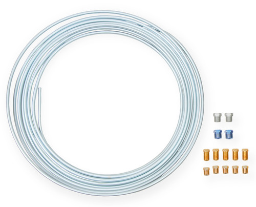 Earls 1/4 In X 25 Ft Coil & Fitting Kit - Zinc