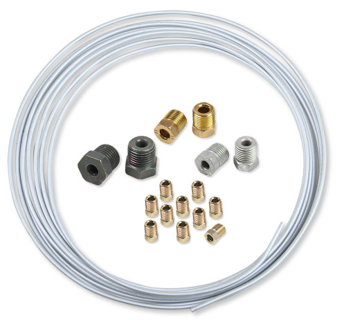 Earls 3/16 In X 25 Ft Coil & Fitting Kit - Zin