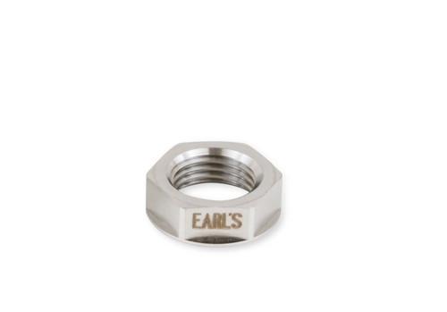 Earls 8An Flanged Bulkhead Nut, S.S.